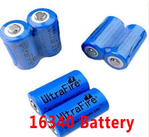 16340 Li-ion rechargeable battery